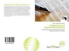 Implied Level of Government Service kitap kapağı