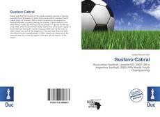 Capa do livro de Gustavo Cabral