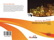 Bookcover of Harmony, Minnesota