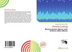 Buchcover von Christa Ludwig
