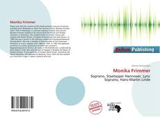 Capa do livro de Monika Frimmer