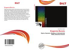 Bookcover of Eugenia Burzio