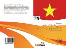 Bookcover of Lycée d'élite Le Hong Phong