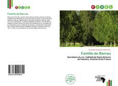 Couverture de Famille de Barrau