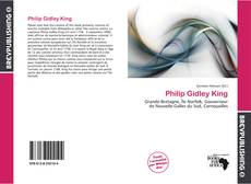 Bookcover of Philip Gidley King
