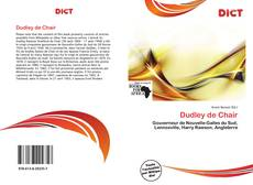 Bookcover of Dudley de Chair