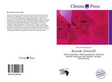 Capa do livro de Karem Aircraft
