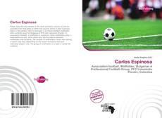 Portada del libro de Carlos Espinosa