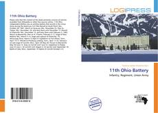 Capa do livro de 11th Ohio Battery