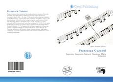Buchcover von Francesca Cuzzoni
