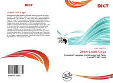 Bookcover of Jean-Louis Laya