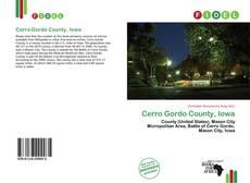 Bookcover of Cerro Gordo County, Iowa
