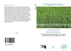 Bookcover of Mark Nicholas