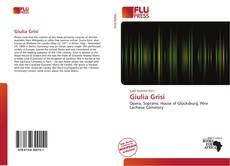 Bookcover of Giulia Grisi