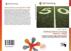 Anthony Davis (running back b. 1952)的封面