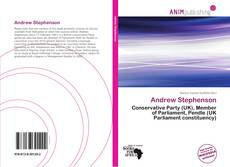 Bookcover of Andrew Stephenson