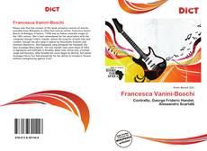 Couverture de Francesca Vanini-Boschi