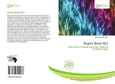 Bookcover of Super Bowl XLI