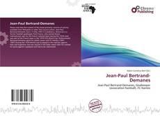 Jean-Paul Bertrand-Demanes kitap kapağı