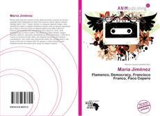 Capa do livro de María Jiménez