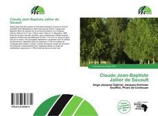 Bookcover of Claude Jean-Baptiste Jallier de Savault