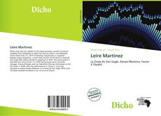 Bookcover of Leire Martínez