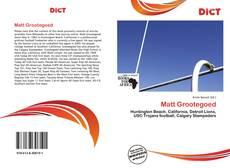 Bookcover of Matt Grootegoed