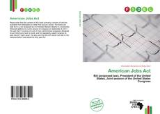Bookcover of American Jobs Act