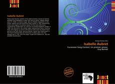 Bookcover of Isabelle Aubret