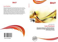 Bookcover of Lee Carlson