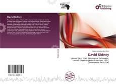 Bookcover of David Kidney