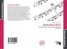 Bookcover of Diletta Rizzo Marin