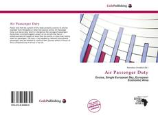 Bookcover of Air Passenger Duty