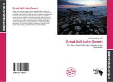 Bookcover of Great Salt Lake Desert