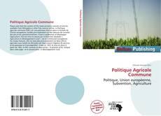 Borítókép a  Politique Agricole Commune - hoz