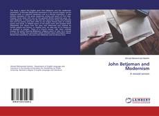 Bookcover of John Betjeman and Modernism