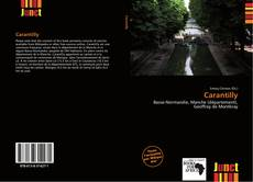 Bookcover of Carantilly