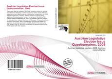 Bookcover of Austrian Legislative Election Issue Questionnaires, 2008