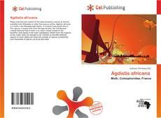 Agdistis africana kitap kapağı