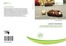 Capa do livro de Javier Cardona