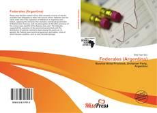 Capa do livro de Federales (Argentina)
