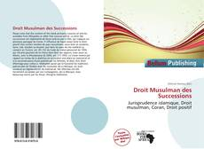 Bookcover of Droit Musulman des Successions