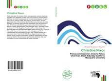 Christine Nixon kitap kapağı
