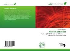 Buchcover von Kerstin Behrendt