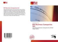 Capa do livro de BVI Business Companies Act