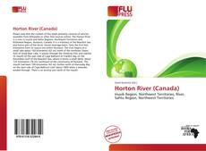 Bookcover of Horton River (Canada)