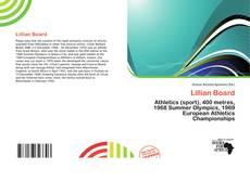 Bookcover of Lillian Board