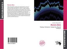 Capa do livro de Keren Ann