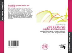 Buchcover von John S Dickerson (pastor and journalist)