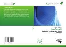 Buchcover von Jean Epstein